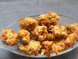 Cabbage pakora or pakoda
