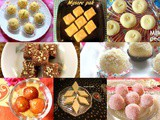 Diwali sweets recipes – Collection of Diwali sweets – festival recipes – Diwali 2019