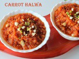Gajar ka halwa recipe – Carrot halwa recipe in pressure cooker – Instant carrot halwa recipe – winter recipes