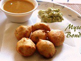 Mysore bonda recipe – How to make mysore bonda recipe | ulundu bonda – Indian snacks