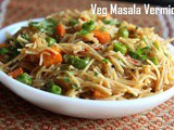 Veg Masala Vermicelli recipe – How to make veg masala vermicelli recipe – veg recipes