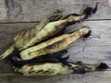 Barbecued Sweetcorn with Burnt Lime & Sea Salt