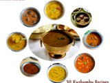 30 Kuzhambu Recipes/South Indian Kuzhambu Varieties