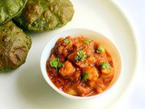 Aloo Bhaji Recipe – Potato Sabzi For Poori