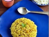 Averakalu Methi Pulao Recipe-Avarekalu Recipes-Sunday Lunch Recipe-2