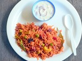 Beetroot Rice Recipe – Beetroot Pulao – Beetroot Recipes