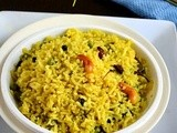 Bengali mishti pulao recipe/sweet pulao-bengali recipes
