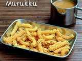 Butter Murukku Recipe(With Video)-Easy Snack Recipes
