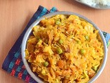 Cabbage Masala Curry Recipe For Rice, Roti - How To Make Cabbage Masala