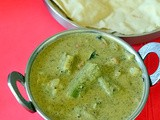 Heerekayi Palya Recipe – Karnataka Style Ridge Gourd Gravy For Roti, Rice
