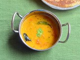 Instant Sambar Without Dal For Idli, Dosa - Easy Tiffin Sambar Recipe