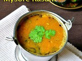 Mysore Rasam Recipe-Rasam Varieties