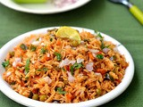 Tawa Pulao Recipe-Mumbai Street Food-Sunday Lunch Recipes Series 23
