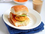 Vada Pav Recipe-Mumbai Batata Vada With Garlic Chutney Recipe