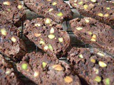 Chocolate Pistachio Biscotti with Orange and Cardamom – Gluten Free
