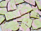 Christmas Chocolate Bark – Matcha and Cranberry Delight