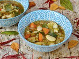 Chunky Vegetable Soup with Beans