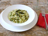 Cornish Asparagus Risotto with Peas and Wild Garlic Pesto