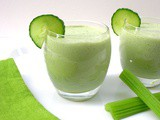 Cucumber and Celery Smoothie or Summer Soup