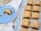 Fig Rolls with Wholemeal Spelt Biscuit Pastry