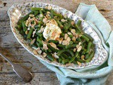 Green Beans with Almonds & Crème Fraîche for a Luxurious Side