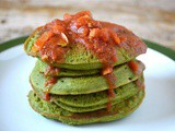 Kefir Kale Pancakes – They'll Make You Green with Envy