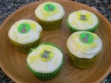 Nettle, Lemon and White Chocolate Cupcakes