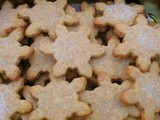 Orange and Cinnamon White Chocolate Shortbread