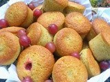 Red Gooseberry Cakes