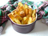 Rosemary Chips – Air Fried, Crisp on the Outside, Fluffy in the Middle