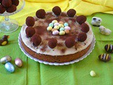 Simnel Mincemeat Easter Cake with Chocolate Truffle Apostles
