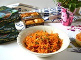 Simple Orange Ginger Carrot Salad for a Higgidy Picnic