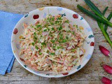 Spring Slaw – a Cut Above The Rest – Fennel, Carrot, Radish & Apple