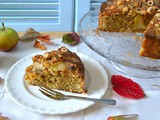 Toffee Apple Hazelnut Cake for Bonfire Night or Other Autumnal Occasions