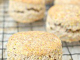 Vegan Wholemeal Scones: Wholesome and Protein Rich