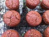 Wensleydale and Cranberry Chocolate Muffins