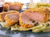 Crispy Pork Chops and Fennel Salad
