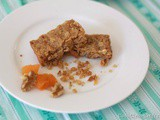Simple Apricot Walnut Slice to Share
