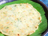 Akki roti recipe, how to make Karnataka akki rotti recipe | Rice flour roti recipe