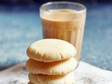 Butter biscuits recipe | Indian tea shop style butter biscuits recipe