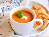 Carrot ginger soup recipe-vegan and low fat
