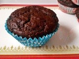 Chocolate-beetroot muffin(Egg less and no butter)