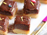 Chocolate Burfi With Khoya