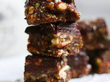Date Nut Bars (Chocolate Covered)