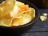Easy Potato Chips Recipe | How To Make Potato Chips