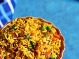 Masala Rice Recipe With Left Over Rice