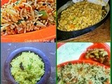 Recipe collection-most loved one pot meals/pulao varieties