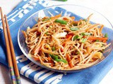 Veg Chow Mein Recipe (Indo Chinese)