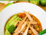 Easy Instant Pot Chicken Tortilla Soup Recipe