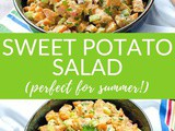 Easy Sweet Potato Salad (Paleo, Vegan, Whole30)